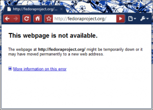 Fedoraproject.org has downed.